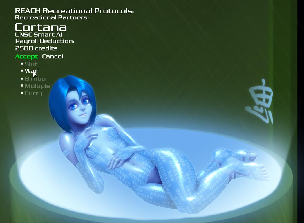 Cortana porn moving xxx sex gallery