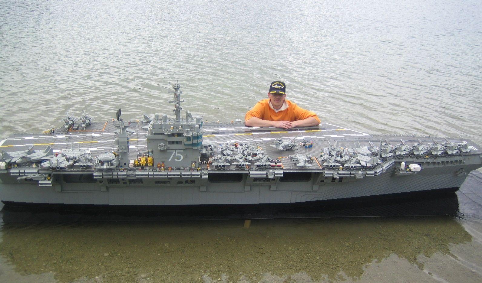 Lego Aircraft Carrier - MyConfinedSpace