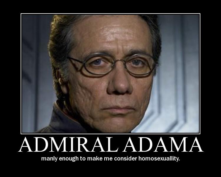 admiral adama motivational bsg series discussion