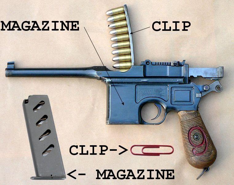 Clips? - Semi-Auto Handguns