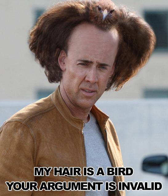LOL. LOL. LOL. O___O Falcon-hair
