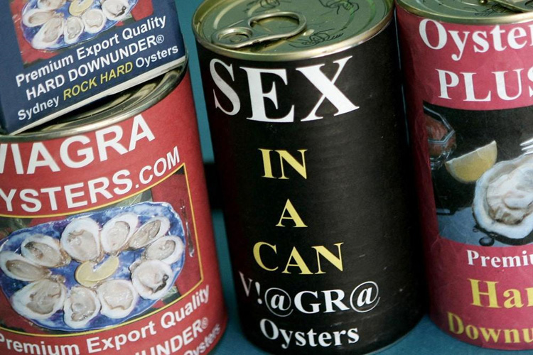 Oysters Spiked Viagra