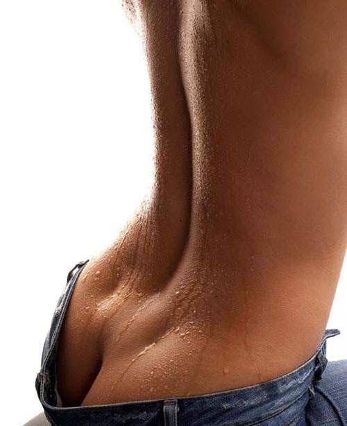 красивое тело женщины со спины фото