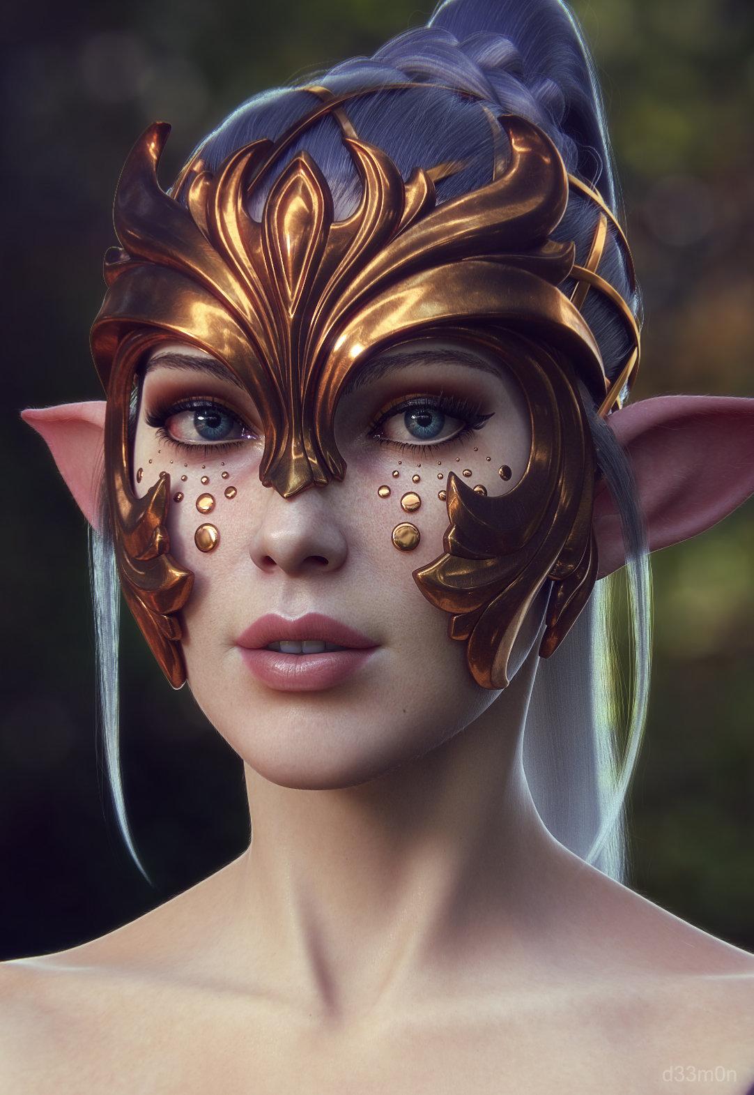 Cgi elf nude photo