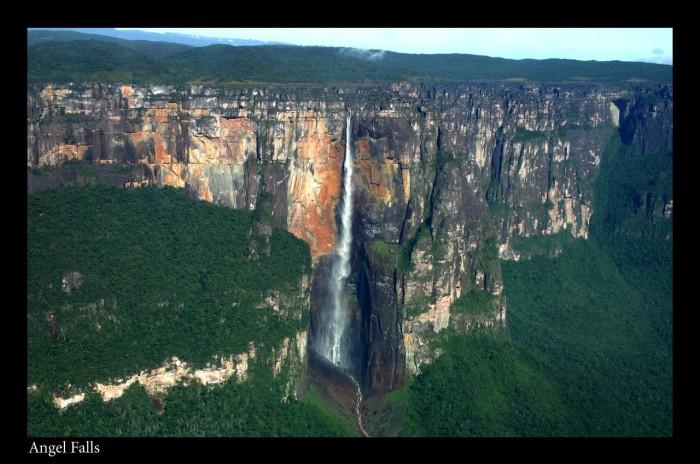 Самый высокий водопад в мире 7