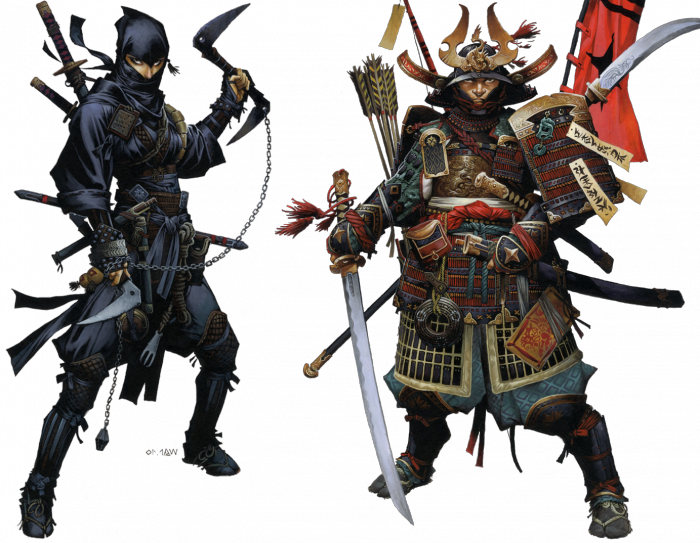 the role of samurais and ninjas in the unification of japan Keywords: samurai essay, samurai history the samurai: has played a significant role in japan's history and culture throughout the centuries.